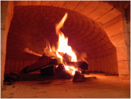 Wood Fired Dome Oven